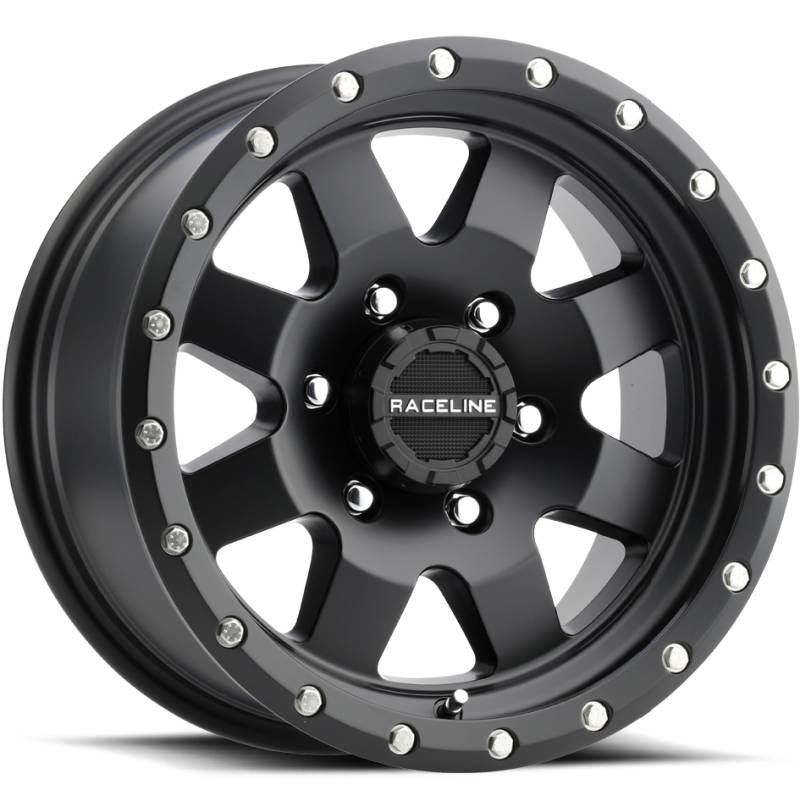 Raceline 935B Defender Satin Black Wheels