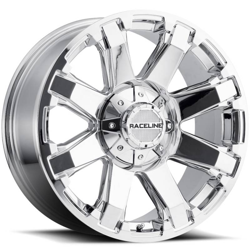 Raceline 936C Throttle Chrome Wheels