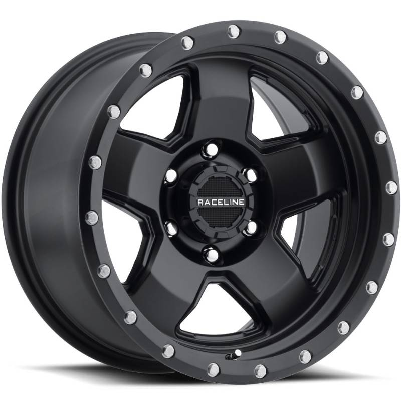 Raceline 937B Combat Satin Black Wheels