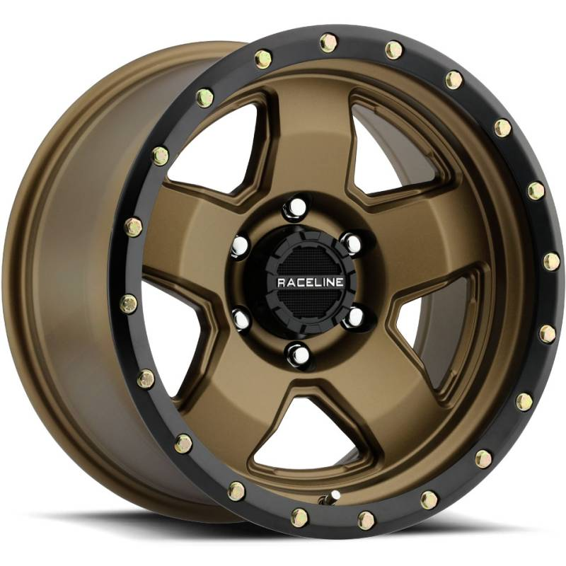Raceline 937BZ Combat Bronze with Black Ring