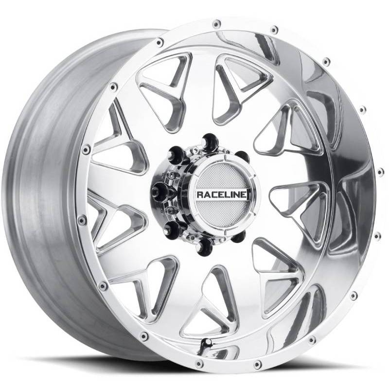 Raceline 939P Disruptor Polished Wheels