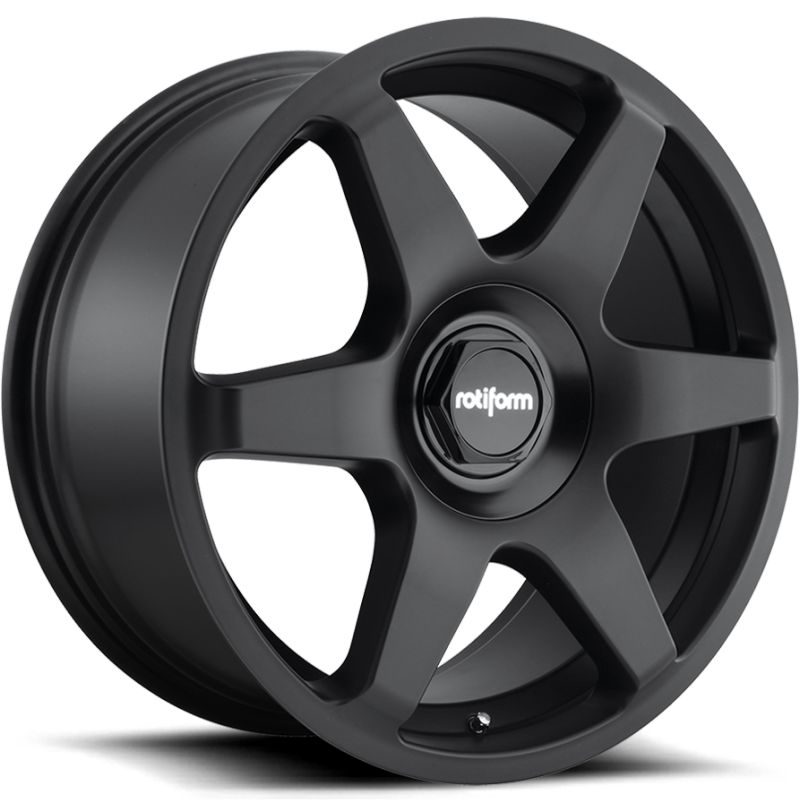 Rotiform Six Matte Black