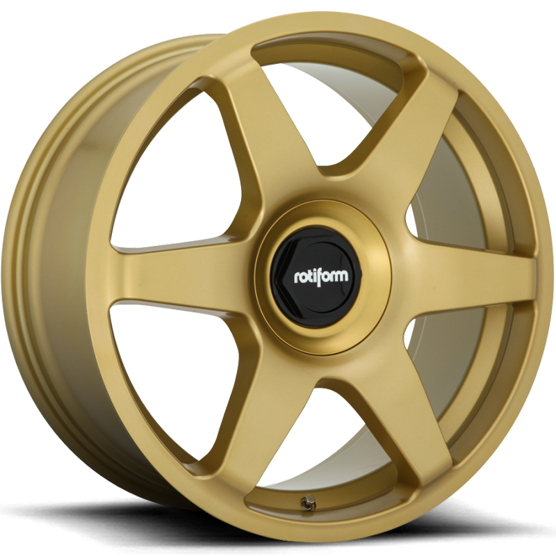 Rotiform Six Matte Gold