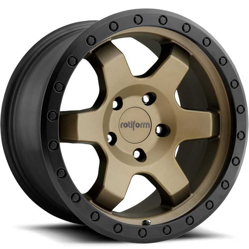 Rotiform Truck Six Bronze with Black Beadlock