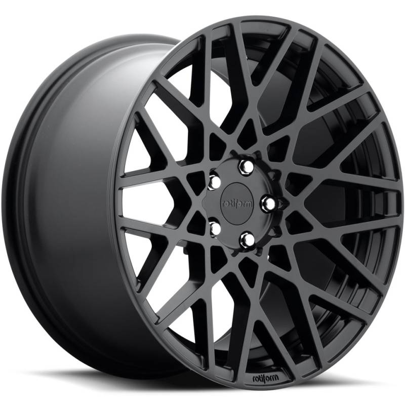 Rotiform BLQ Flat Black Wheels