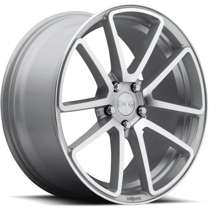 Rotiform SPF Silver Wheels