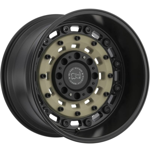 Black Rhino Arsenal Sand Black Truck Wheels