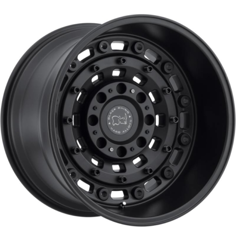 Black Rhino Arsenal Textured Matte Black Truck Wheels