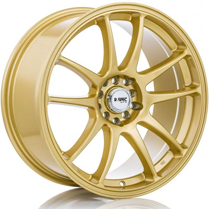 R-Spec Stag Gold Wheels