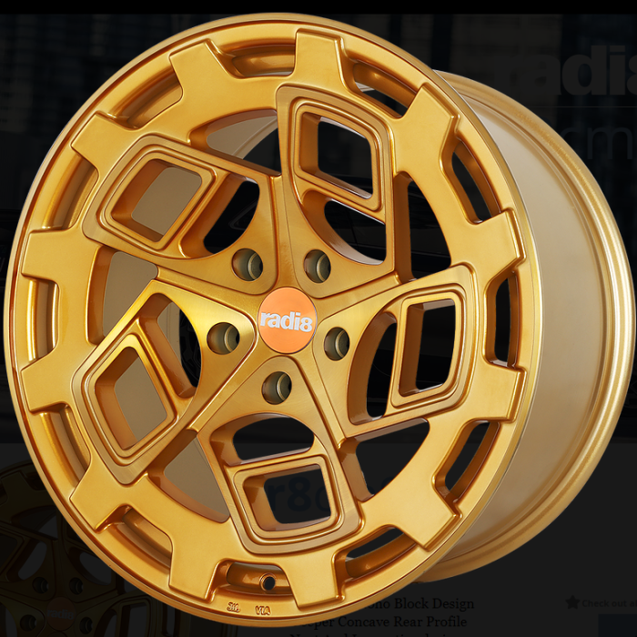 Radi8 R8CM9 Brushed Gold