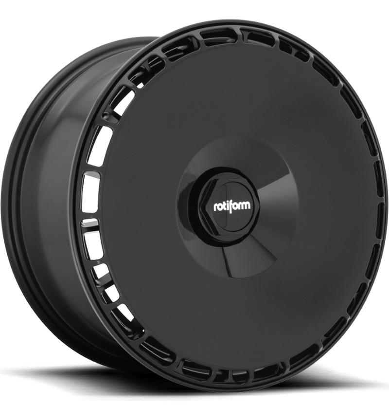 Rotiform Aerodisc Black