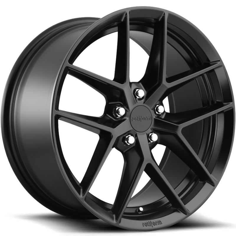 Rotiform FLG Matte Black