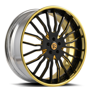 Rucci 50 Cal Black and Gold Beauty