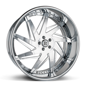 Rucci Casket Chrome Wheels