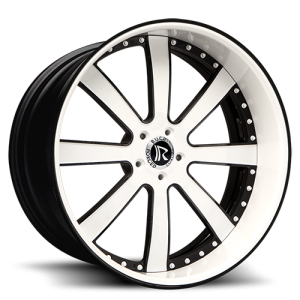 Rucci Ditto White and Black Wheels