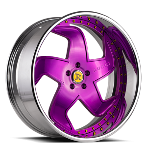 Rucci Bestia Purple with Chrome Lip