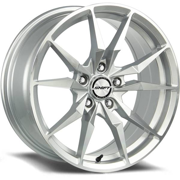 Shift Wheels Blade Silver Machined