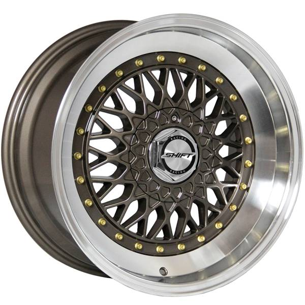 Shift Wheels Clutch Gloss Bronze with Machined Lip