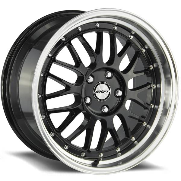 Shift Wheels Flywheel Gloss Black with Machined Lip