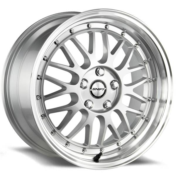 Shift Wheels Flywheel Gloss Silver with Machined Lip