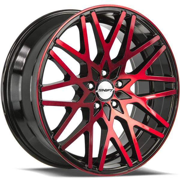 Shift Wheels Formula Red and Black