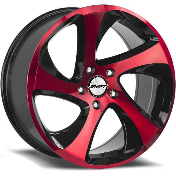 Shift Wheels Strut Red and Black