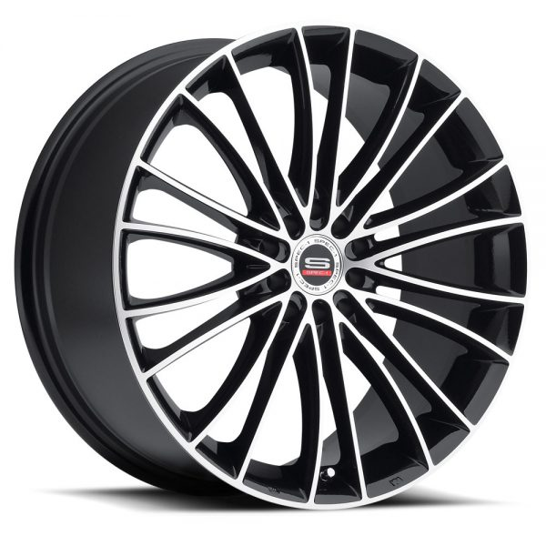 Spec-1 Racing SP-01 Machined Black Wheels