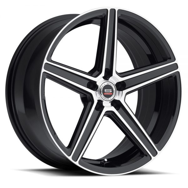 Spec-1 Racing SP-08 Machine Black Wheels