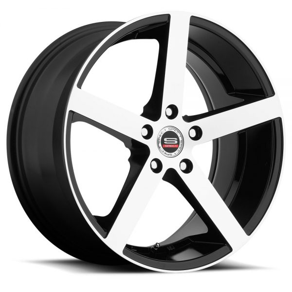 Spec-1 Racing SP-10 Machine Black Wheels