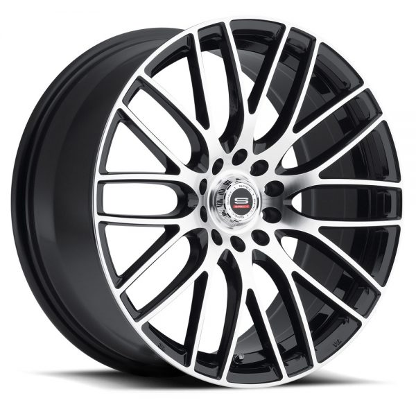 Spec-1 Racing SP-20 Machine Black Wheels