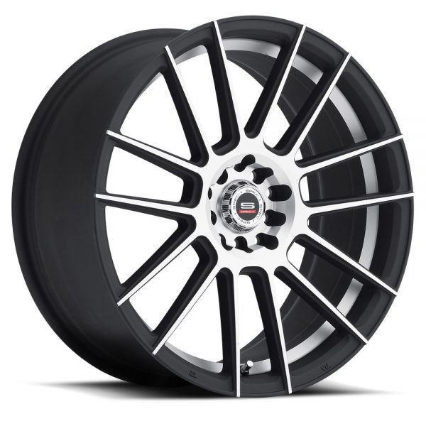 Spec-1 Racing SP-21 Machine Black Wheels