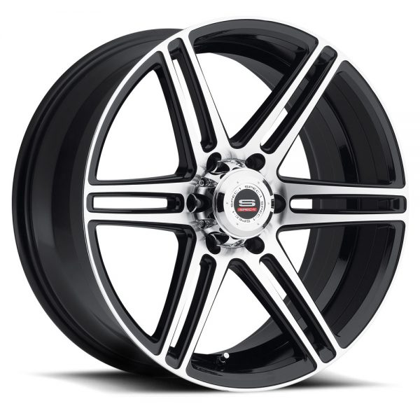Spec-1 Racing SP-22 Machine Black Wheels
