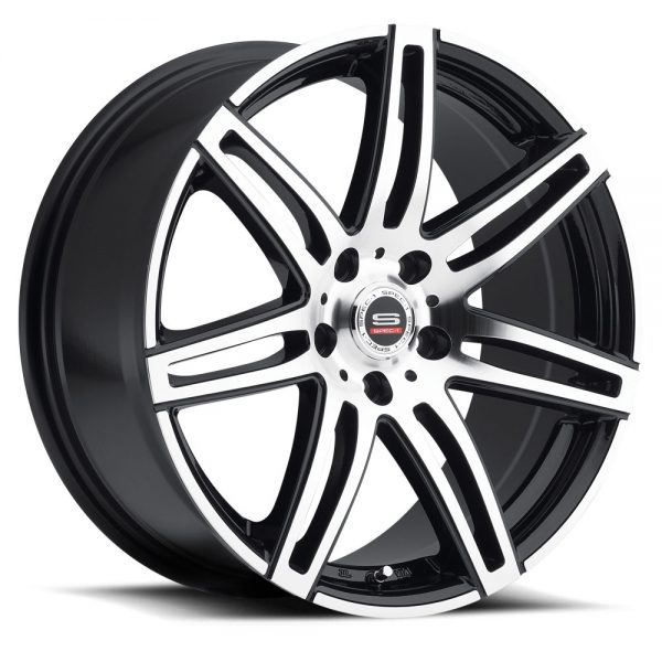 Spec-1 Racing SP-24 Machine Black Wheels
