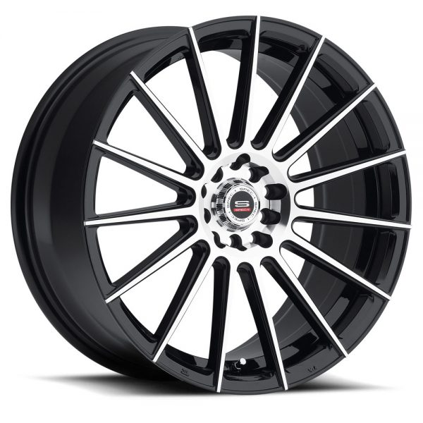 Spec-1 Racing SP-27 Machine Black Wheels
