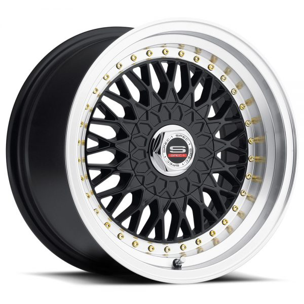 Spec-1 Racing SP-3t Gloss Black Wheels