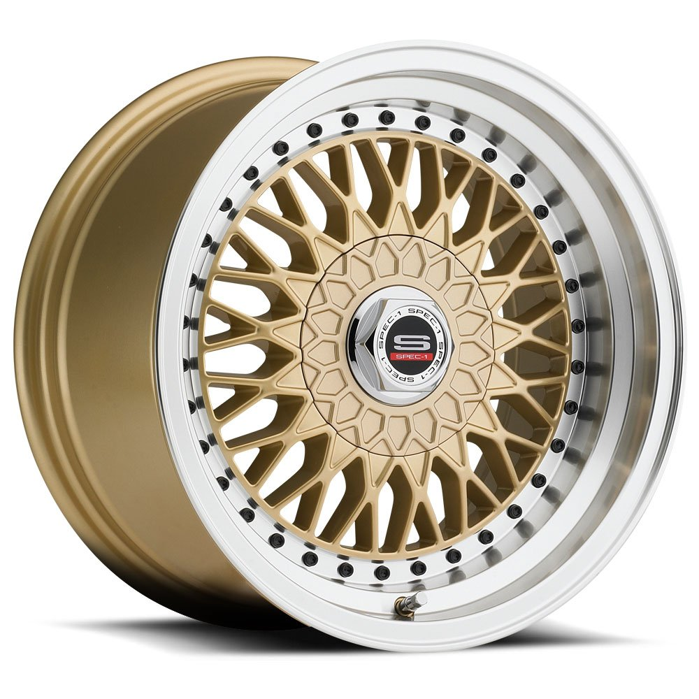 Spec-1 Racing SP-3t Gold Wheels