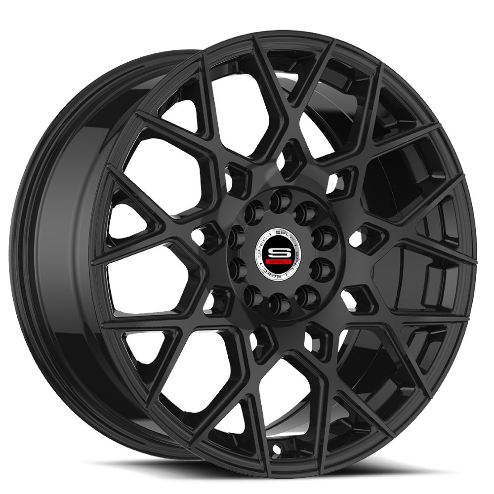 Spec-1 Racing SP-52 Gloss Black Wheels