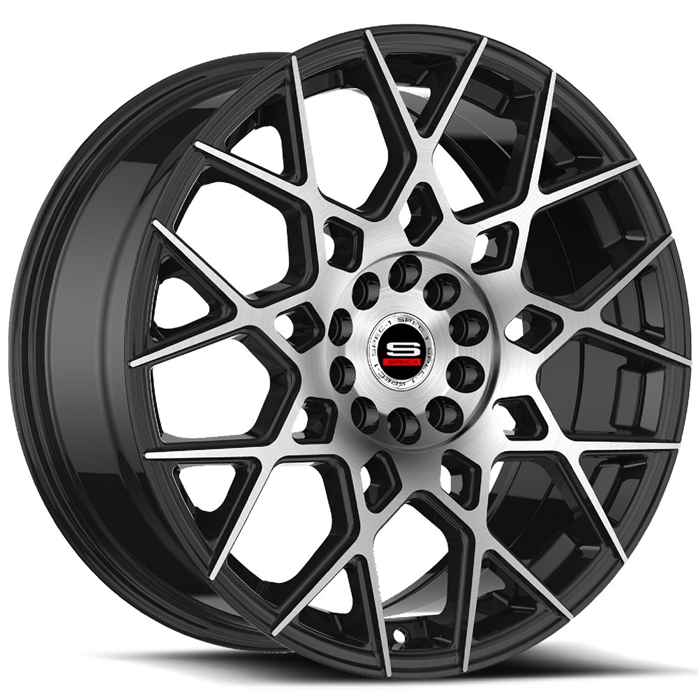 Spec-1 Racing SP-52 Machine Black Wheels