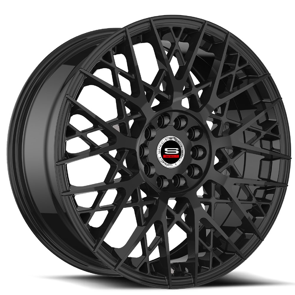 Spec-1 Racing SP-53 Gloss Black Wheels