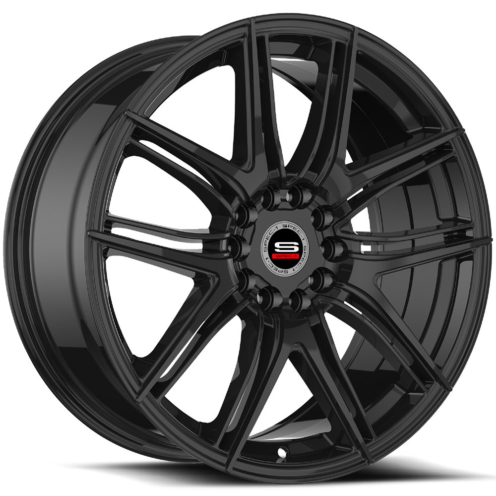 Spec-1 Racing SP-56 Gloss Black Wheels