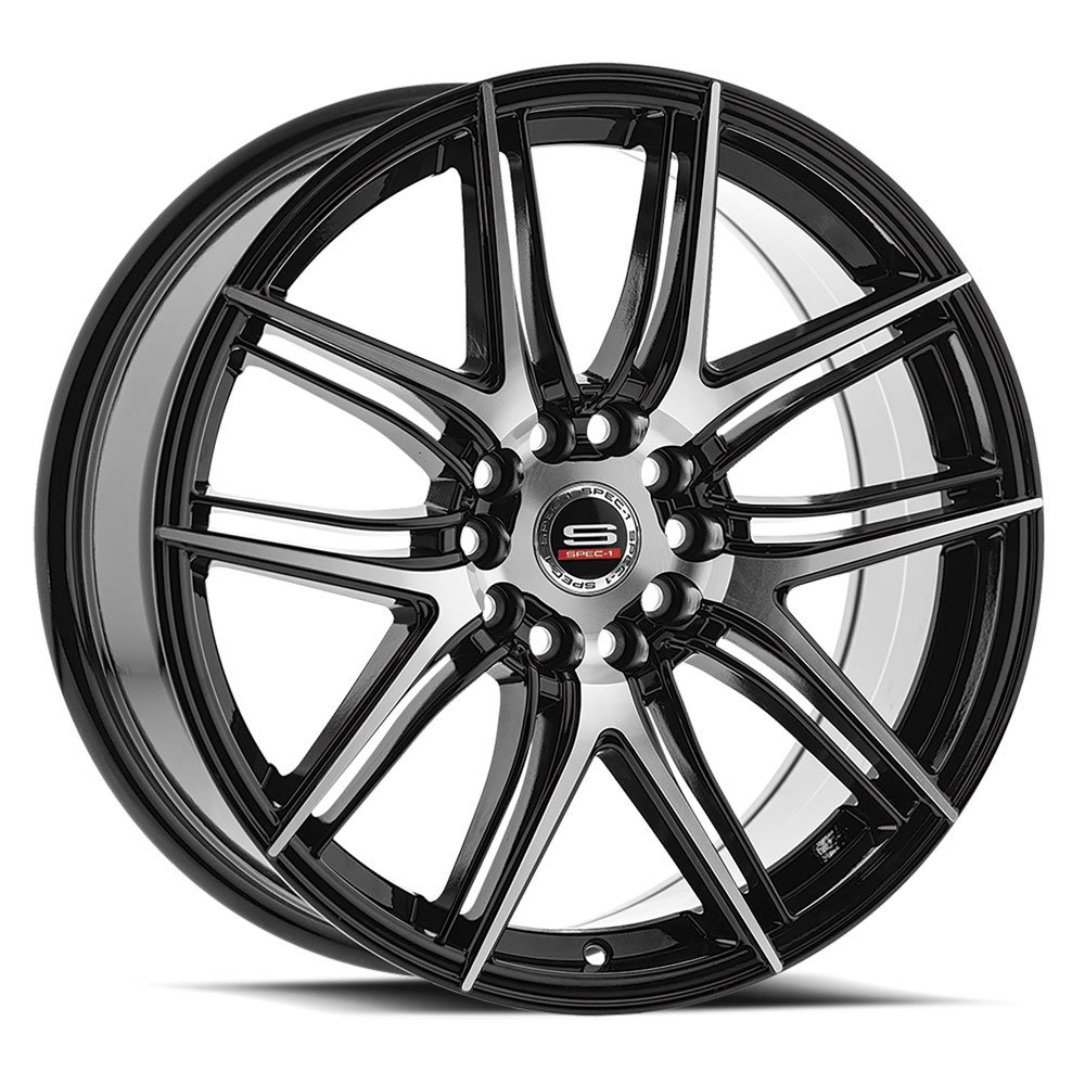 Spec-1 Racing SP-56 Machine Black Wheels
