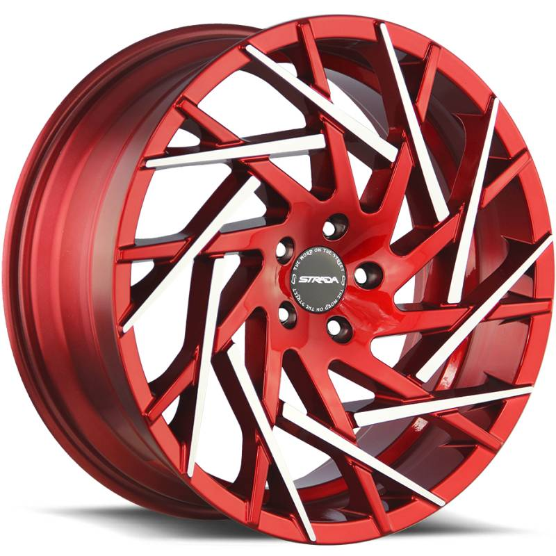 Strada Nido Candy Apple Red with Machined Tips