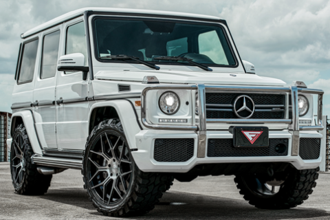 2016 Mercedes G63 AMG on Ferrada FT3 Machine Black