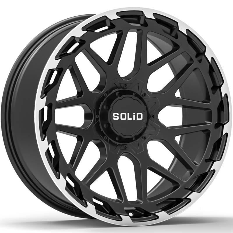 SOLiD Creed Black Machined