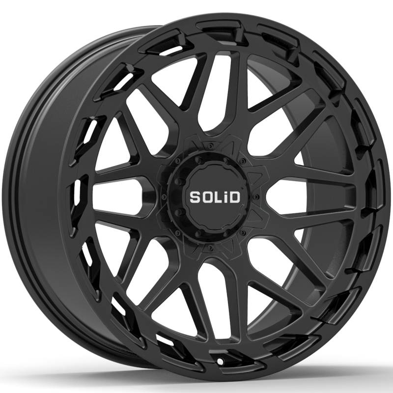 SOLiD Creed Black Wheels