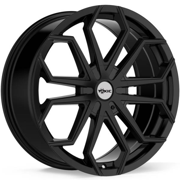 Toxic Spider Gloss Black Wheels
