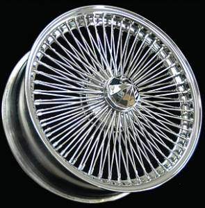 Galaxy Front Wheel Drive Wire Wheel