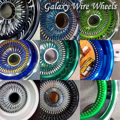 Galaxy Wire Wheels
