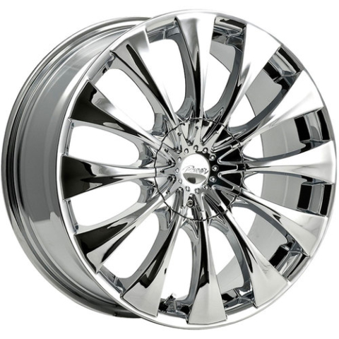 Pacer 766C Silhouette Chrome Wheels