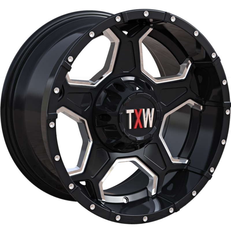 TXW T-0.03 Black Milled